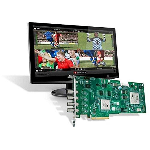 Matrox VS4PRO | VS4Recorder Pro Software and VS4 Quad HD SDI Capture Card