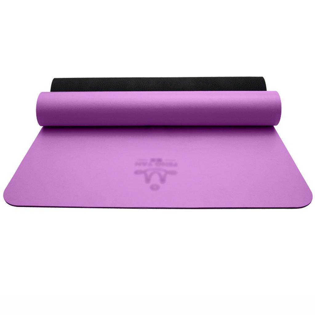 5mm Naturkautschuk-Yogamatte erweitern haltbaren Berufssport-Boden-Übungsmatten Training