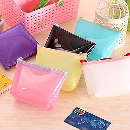 Generic negro: transpat plástico Monedero Simple tarjeta de ...