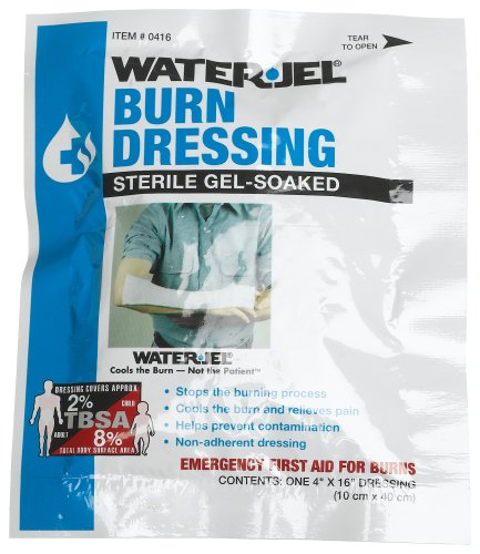 First Aid Only 4'' X 16'' Water Jel Burn Dressing, Sterile (Pack of 2)