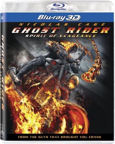 Blu-ray 3D : Ghost Rider Spirit of Vengeance (With Blu-Ray, Ultraviolet Digital Copy, Dubbed, , Widescreen)