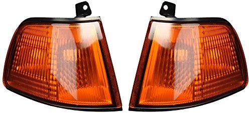 Honda 91 Civic Light Corner (Spec-D Tuning LC-CV903AM-RS Honda Civic 2/3Dr Hatchback Amber Front Corner Signal Lights)