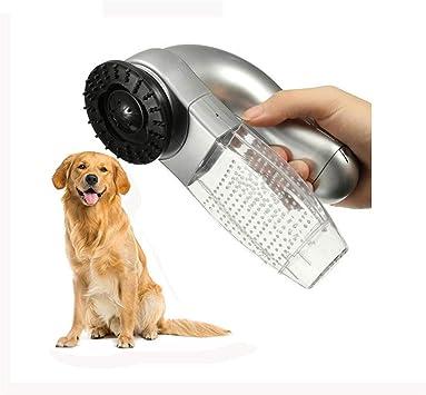 WSGJHB - Aspiradora eléctrica para pelo de mascotas, cepillo de succión eléctrico para masajes y pelos de perros y gatos: Amazon.es: Bricolaje y herramientas
