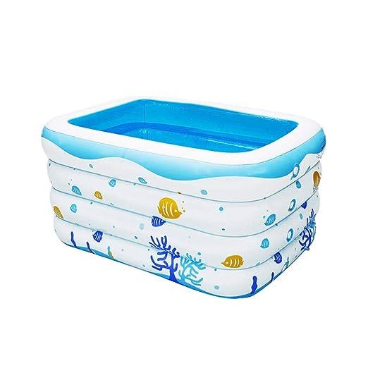 LYM & bañera Plegable Piscina Inflable del niño del niño ...