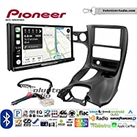 Volunteer Audio Pioneer AVIC-W8400NEX Double Din Radio Install Kit with Navigation, Apple CarPlay and Android Auto Fits 1997-2004 Corvette