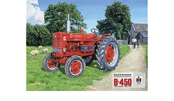 RKO Mccormick Farmall B450 Diesel Tractor Farm Clásico ...