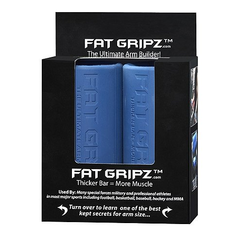 Fat Gripz | Ultimate Arm Builder w/Serious Steel Fitness Carrying Bag | Sold as Pair!