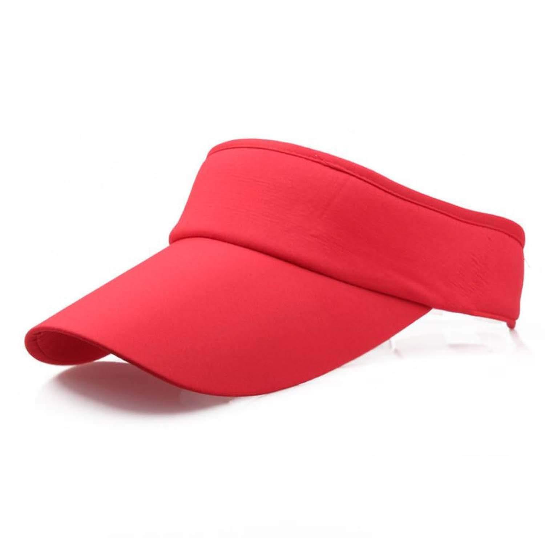 Men Women Summer Hats Adjustable Sport Headband Classic Sun Sports Visor Hat,I