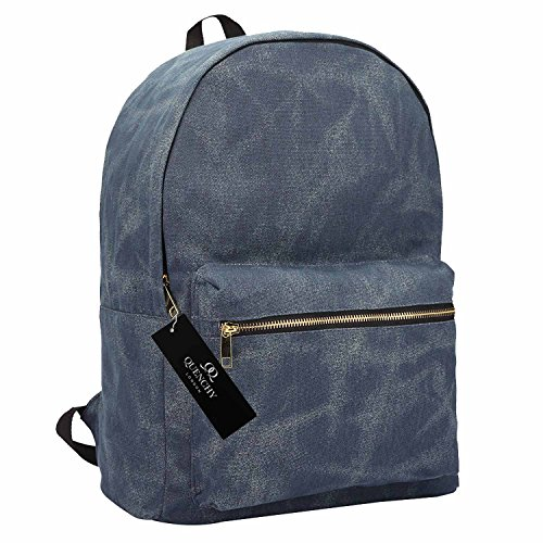 d1e1645d7f Canvas Backpack Rucksack - Girls Ladies Womens Casual Daypack Bags - 15  COLOURS - 20 Litre Medium School Hand Luggage Size Backpacks - Classic  Settlement ...