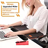 Gimars Memory Foam Set Keyboard Wrist Rest Pad & Mouse Wrist Rest Support For Office, Computer, Laptop, Mac - Durable & Comfortable & Lightweight For Easy Typing & Pain Relief