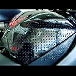 Stompgrip Kawasaki ZX6R 09-14 Traction Pad Tank Kit - Black