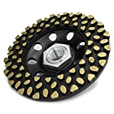 Anyone 4'' Super Light Diamond Cup Grinding Disc Wheel Engineering Plastic Body with CDB Newest Technology (Anyone, 4'' 4.6 oz Super Light)