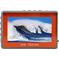 Electop 4.3 Wrist TFT LCD CCTV Tester 1080P AHD Test Analog Video Test 12V Power Output Cable Test Camera Tester