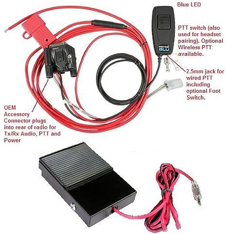 MaximalPower™ Surveillance 1-Wire Headset Earpiece Waterproof PTT for MOTOROLA