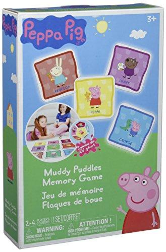 Peppa Pig Muddy Puddles Memory Board Game ()