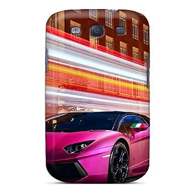 Special Design Back Pink Blue Lamborghini Phone Case Cover For