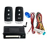 EASYGUARD KE02-rt0107 Universal Car keyless Entry System with Remote Lock Unlock Remote Trunk Release Central Door Locking dc12v