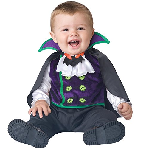 [Totally Ghoul Baby Vampire Costume, Size Infant, Large, 18-24 Months] (Vampire Costumes For Babies)