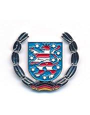 Vrijstaat Thüringen wapen Erfurt Duitsland vlag Edel pin aansteker 0932