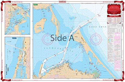 Waterproof Charts, Standard Navigation, 68 Islands of Lake Erie (Erie Chart Depth Lake)