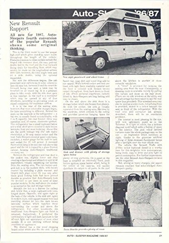 Review 1986 87 Renault Auto-Sleeper