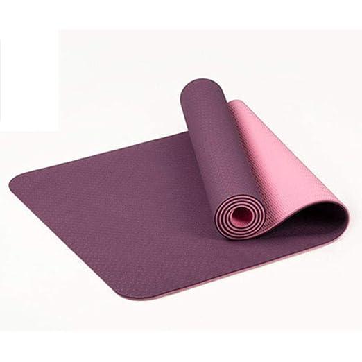 Lipiy Colchonetas de Yoga Colchoneta de Yoga Antideslizante ...