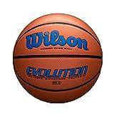 "Wilson Evolution Game Basketball, Royal, Intermediate Size - 28.5"""