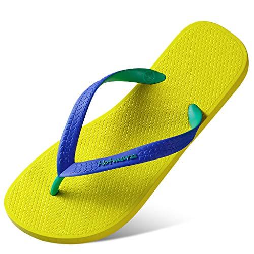 d'été Yellow Chaussures Yellow de Chaussures Plage Plage de de d'été Chaussures 6BPqPf