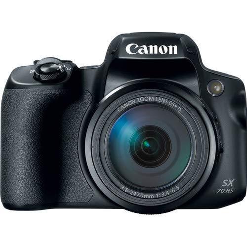 Canon PowerShot SX70 HS Digital Camera (3071C001) – Base Bundle