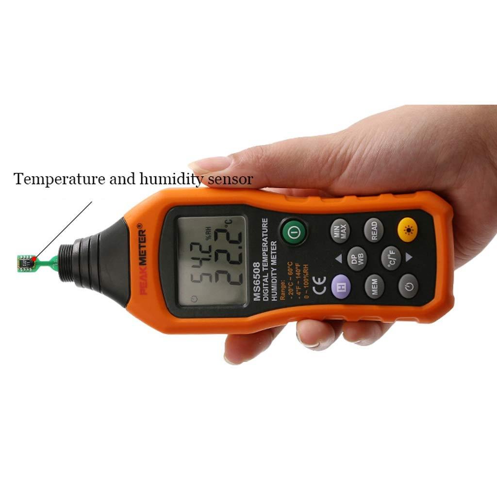 Medidor de Temperatura Industrial Ambiental para termómetro ...