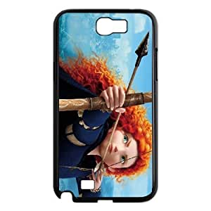 Samsung Galaxy Note 2 Black phone case merida Best Xmas Gift for Girlfriend UGD8017505