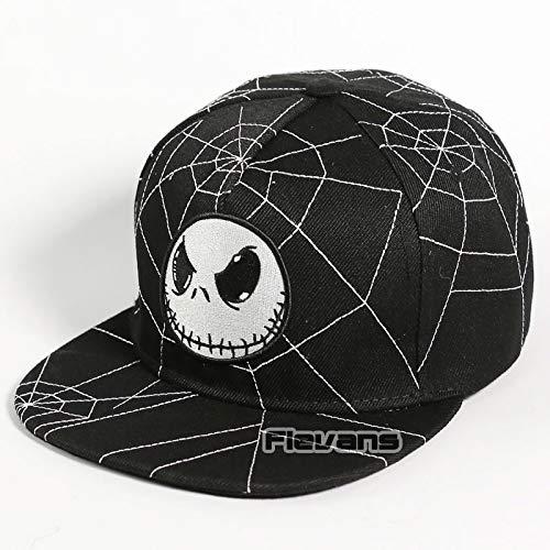 The Nightmare Before Christmas Cotton Adjustable Hat Baseball Caps Hip Hop Hats Boys Girl Adult Cosplay Gift ()