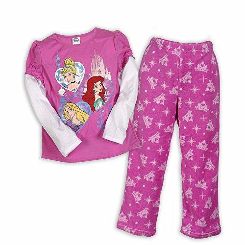 Disney Princesses Hearts Pajama Sizes