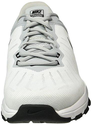 Nike Air Max Full Ride TR, Zapatillas De Deporte para Hombre Blanco / Negro / Gris / Plata (White / Black-Wlf Gry-Mtllc Slvr)