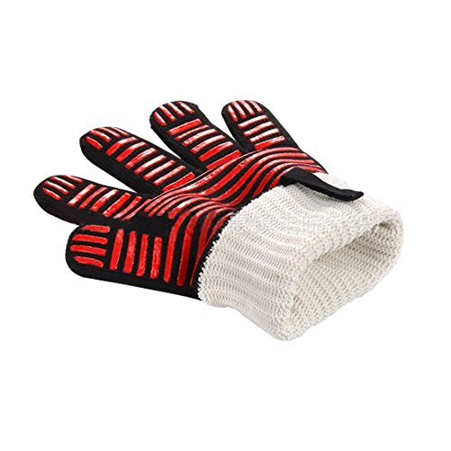 (Td stores Oven, Barbecue and Grill Cooking Gloves Gloves Heat Resistant up to 500 Temperature)