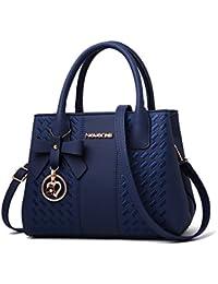 Handbags for Women Fashion Ladies Purses PU Leather Satchel Shoulder Tote  Bags a5df034c1f76f