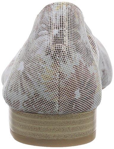 Caprice Damen 22161 Geschlossene Ballerinas Mehrfarbig (DUNE SUE. COMB 402)