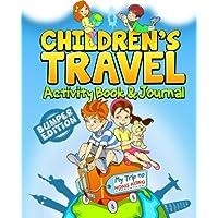 Children's Travel Activity Book & Journal: My Trip to Hong Kong
