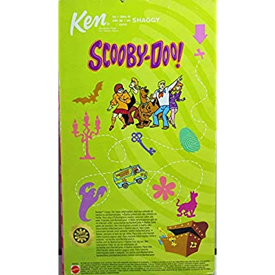 Mattel Barbie 2851 2002 Scooby-Doo Ken as Shaggy: Toys & Games