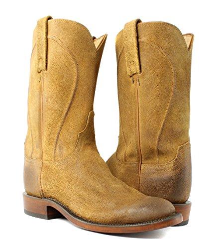 Lucchese Hl6500.8r Bonnie Womens Sand Brenne Comanche Skinn Cowboy Western Boots