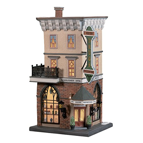 Foster Pharmacy Christmas In The City Department 56 Item 58916 Retired