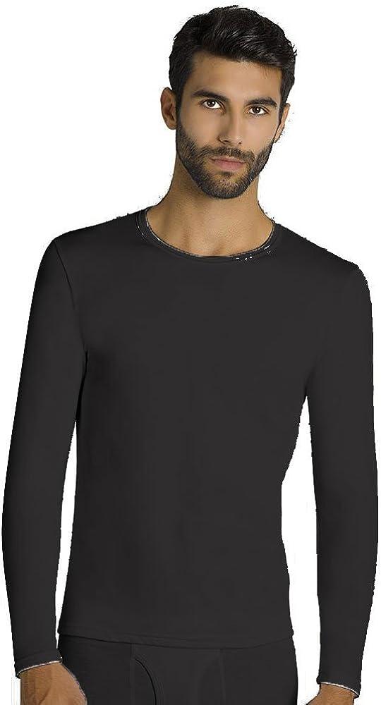 YSABEL MORA - Camiseta TÉRMICA Hombre Hombre Color: Negro Talla ...