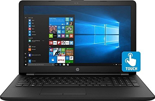 "2018 Newest Premium HP 15.6"" Touchscreen HD Laptop, Intel Dual Core i3-7100U Processor 2.40GHz, 8GB DDR4 RAM, 1TB HDD, HDMI, Bluetooth, Webcam, HD Graphics 620, DVD-RW, 8-Hours Battery, Win 10 by HP (Image #1)"