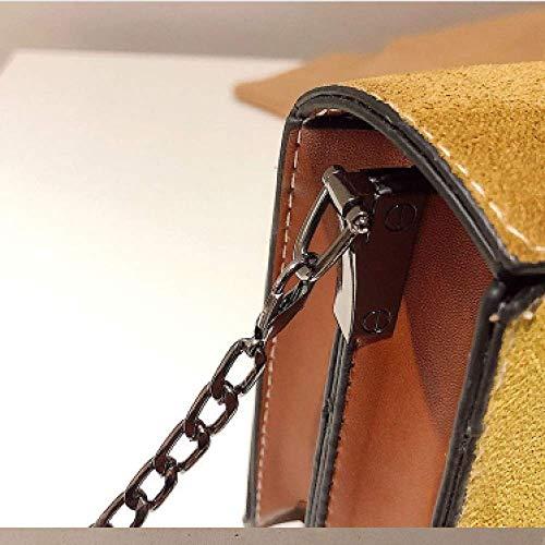 Chaîne Black De Bandoulière Sac À Pour Petit Couleurs Personnalisées Aux Soirée Carré En Dépoli Dames Coutures Diagonal Xingf wSIpqTw