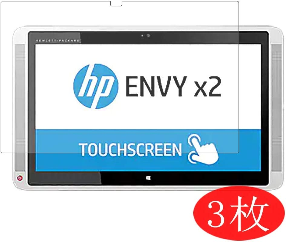"""【3 Pack】 Synvy Screen Protector for HP Envy x2 13-j000 / j002dx / j002tu / j012dx / j000na / j020ca / j001tu 13.3"""" TPU Flexible HD Film Protective Protectors [Not Tempered Glass]"""