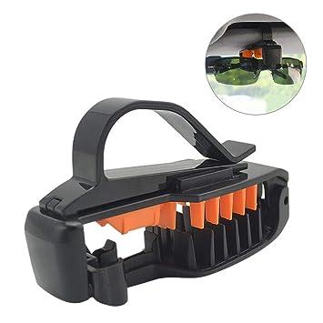 Yunt Sujetador de Gafas para el Parasol del Coche, Gafas de Sol 3R Sujetador de la Tarjeta de boleto Clip del Extremo del Clip: Amazon.es: Hogar