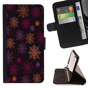 Dragon Case- Caja de la carpeta del caso en folio de cuero del tir¨®n de la cubierta protectora Shell FOR LG Google Nexus 5 E980 D820 D821- Spider