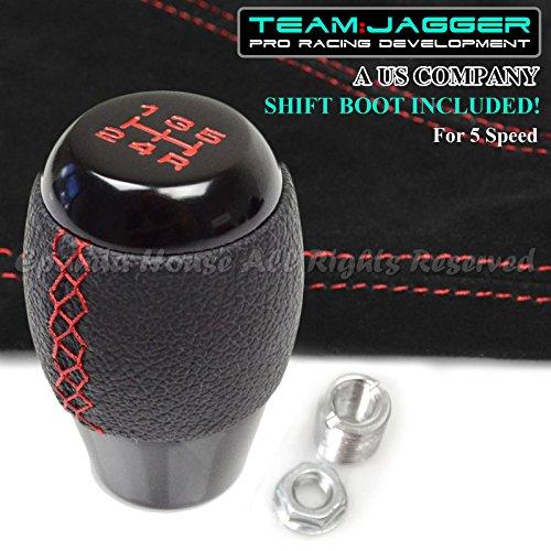 leather 5 speed shift knob - 9