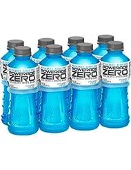 POWERADE ZERO, Zero Calorie Electrolyte Enhanced Sports Drinks, Mixed Berry, 20 fl oz, 8 Pack