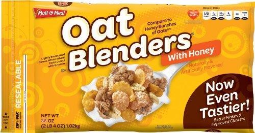 Malt-O-Meal Oat Blenders with Honey Cereal 36 oz